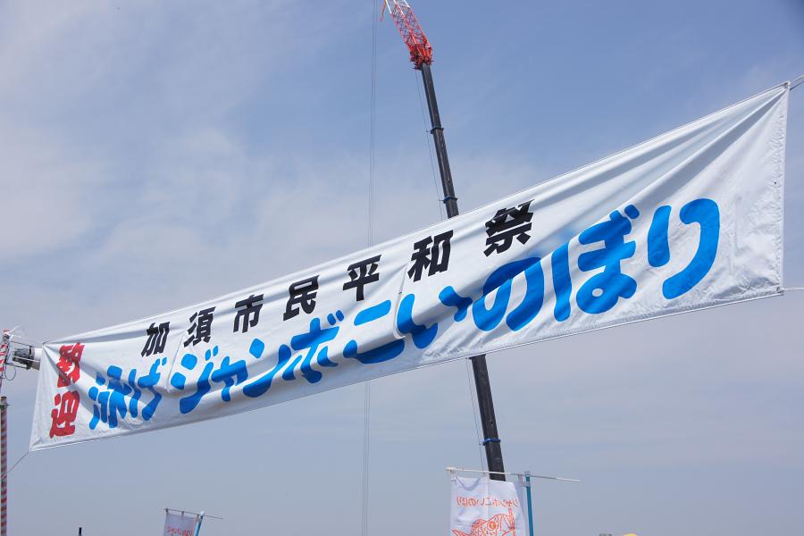 埼玉レポート「たまレポっ!」第7回 大空を泳げ!ジャンボこいのぼり!