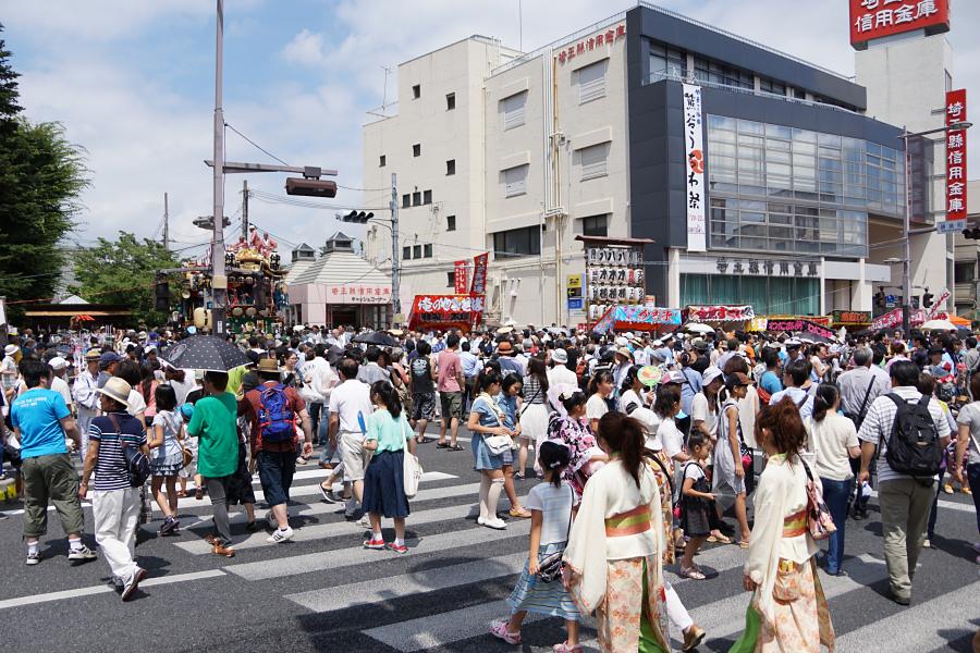埼玉レポート「たまレポっ!」第12回 暑くて熱い!うちわ祭!