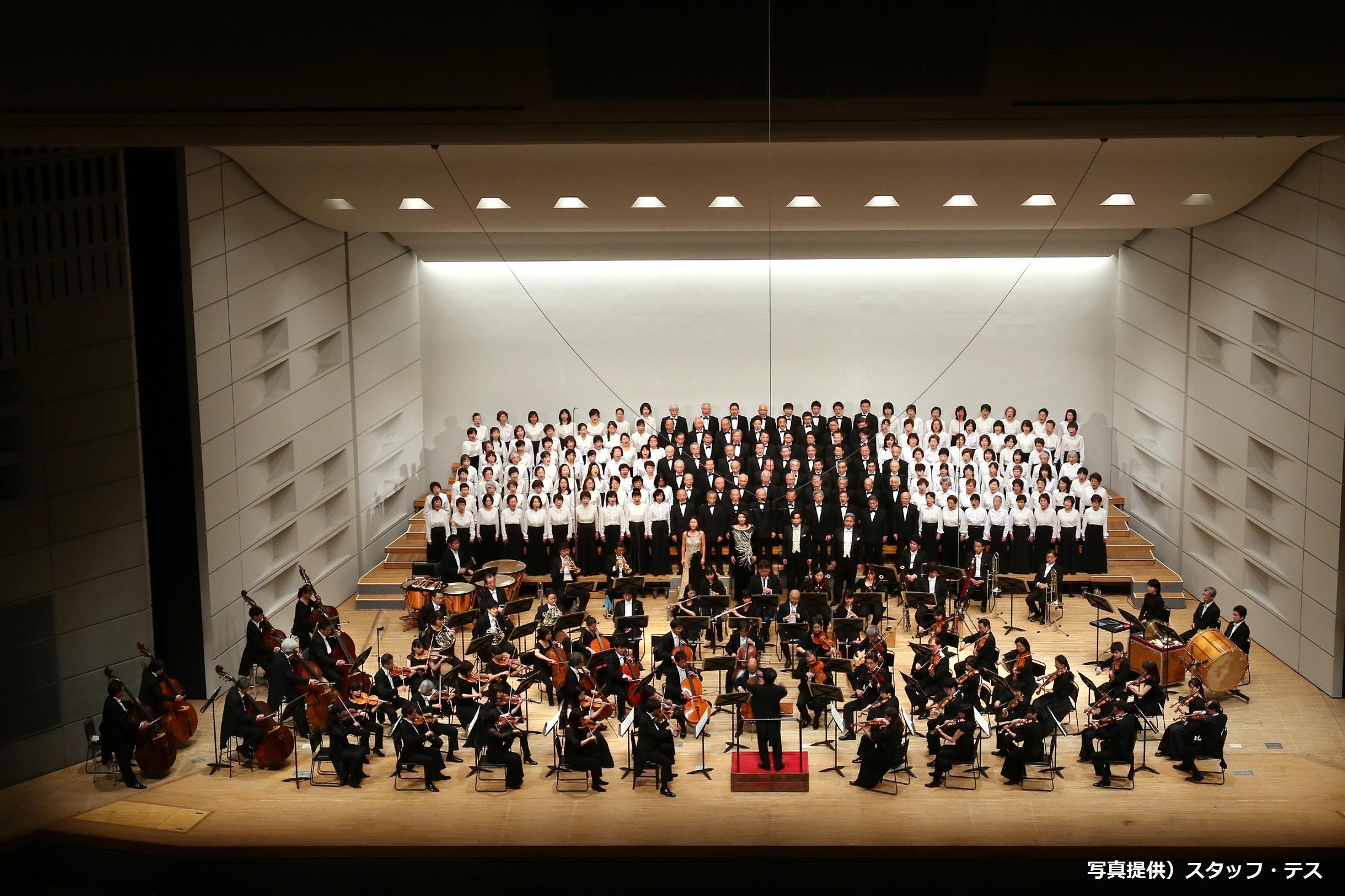 交響曲第九番を歌うことを標榜した老若男女による陽気な集まり 埼玉ブルース第三十五回
